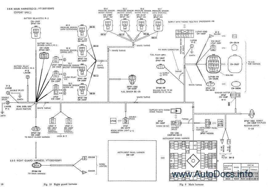 Kobelco SK70SR-1E Crawler Excavator Service Manual repair