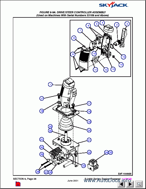 110 Electrical Schematic Wiring Diagram Terex Fuchs Mhl