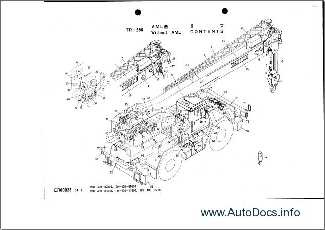 Tadano parts catalog Order & Download