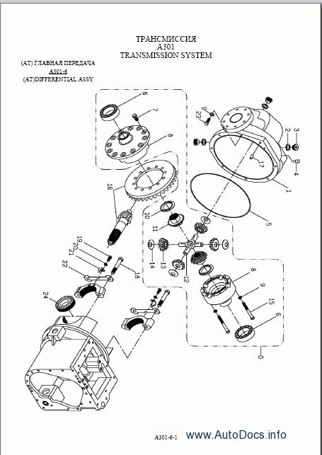 Tailift 7L / TCP-series forklift truck 15T~35T parts