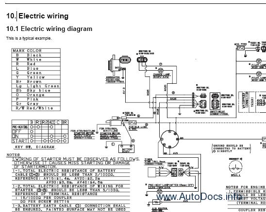 Takeuchi TB014, TB016 repair manual Order & Download