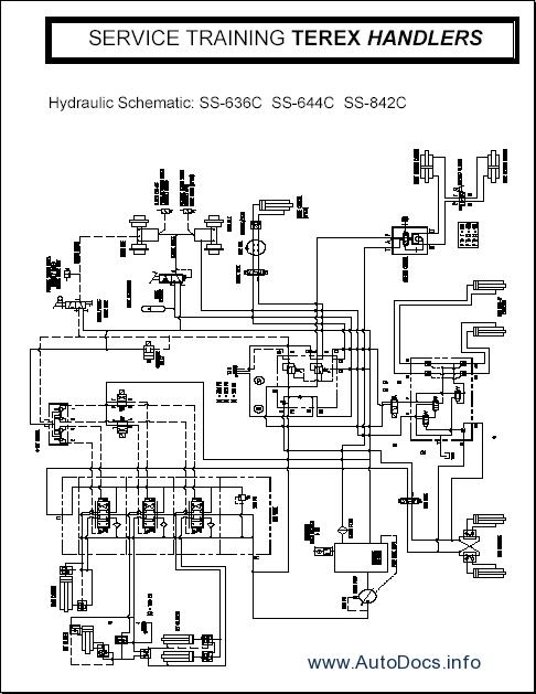 wiring diagram terex tb44