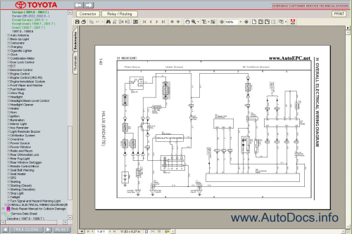 small resolution of toyota hilux wiring diagram