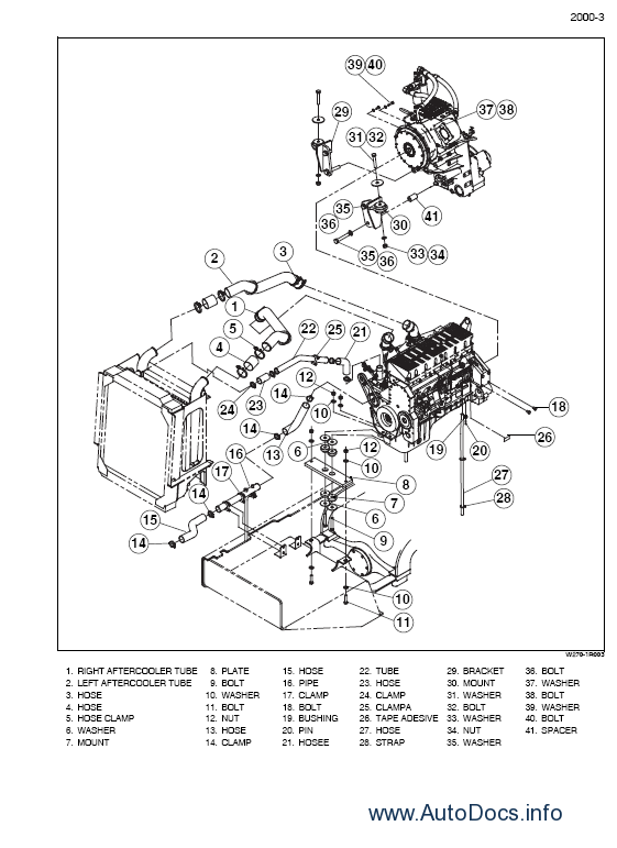 New Holland W270B Wheel Loader Workshop Service Manual