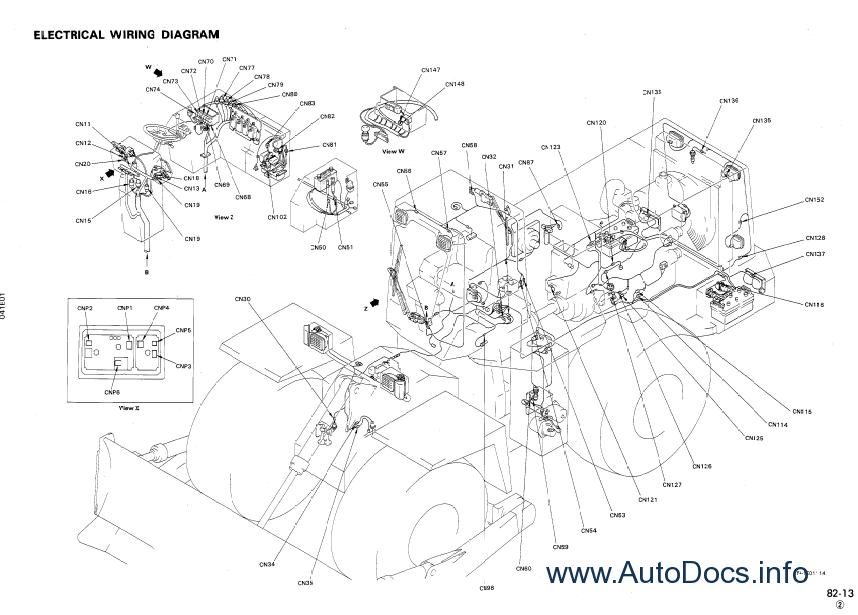 Komatsu Wheel Dozer WD600-3 repair manual Order & Download