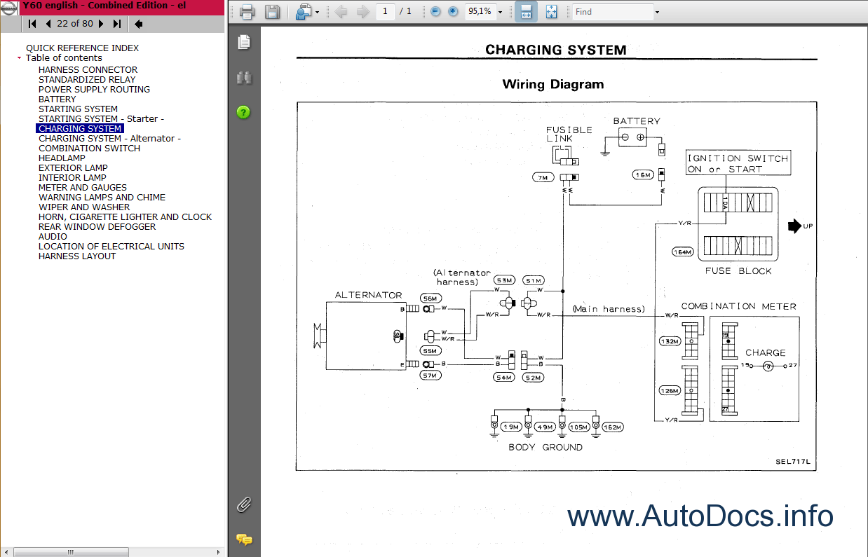 nissan patrol alternator wiring diagram yamaha golf english gu library