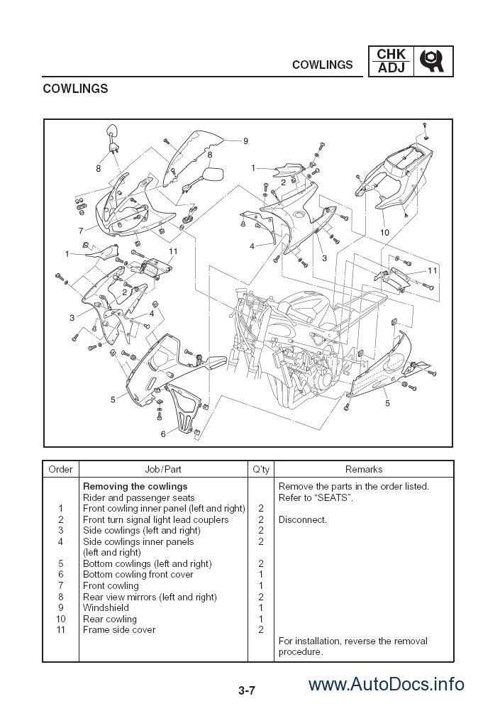 Hvac Wiring Diagrams Schematics And Line Yamaha Yzf R6 2008 Repair Manual Repair Manual Order