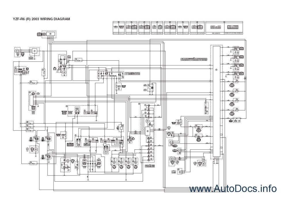 medium resolution of yamaha moto atv repair manuals 1997 2004 repair manual 2012 yamaha r1 wiring diagram yamaha