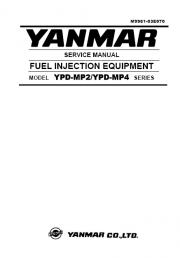 Yanmar Fuel Injection Equipment repair manual Order & Download