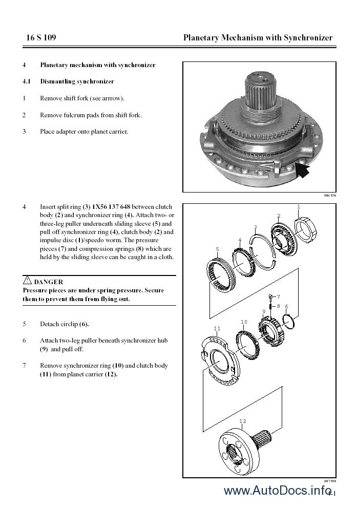 ZF MAN repair manual Order & Download