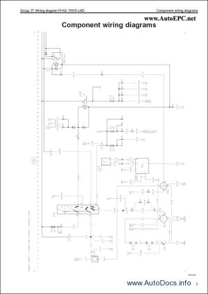 Volvo FM, FH, NH12 Wiring Diagram repair manual Order