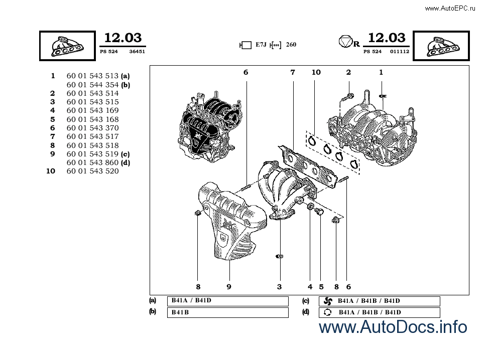 Renault Dacia parts catalog repair manual Order & Download