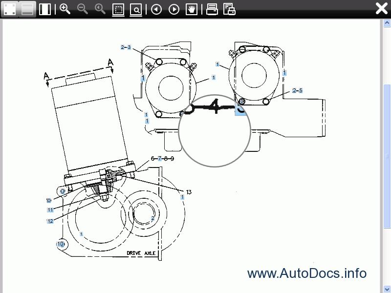 Mitsubishi Forklift Trucks 2011 spare parts catalog, parts