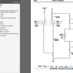 Mitsubishi Lancer Wiring Diagram 1992 1998 Ford Explorer Radio Colt 2004 Service Manual Repair