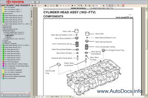 Toyota Land Cruiser Prado 120 Service Manual repair manual Order & Download