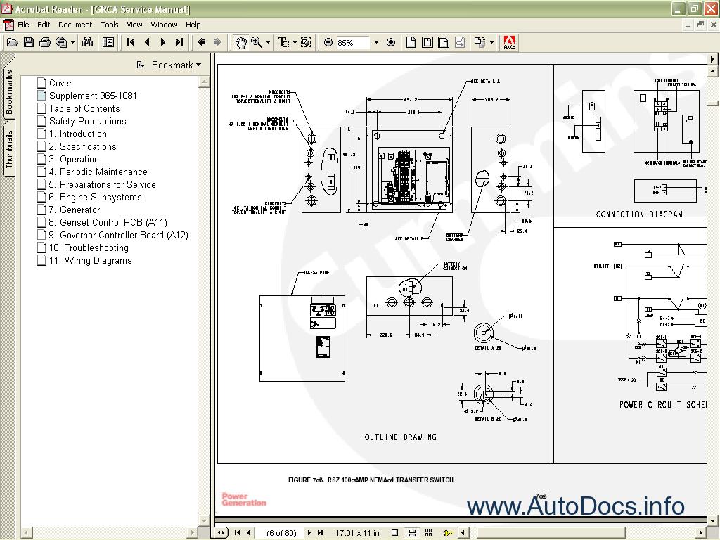 wiring diagram onan genset house examples old generators diagrams rv generator