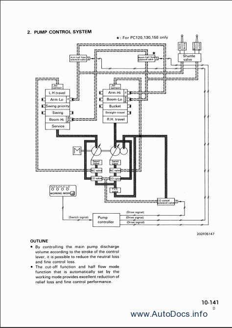 komatsu pc130 wiring diagram