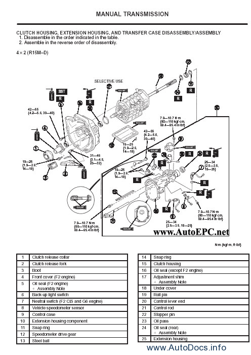 Ford Ranger Workshop Service Manual repair manual Order