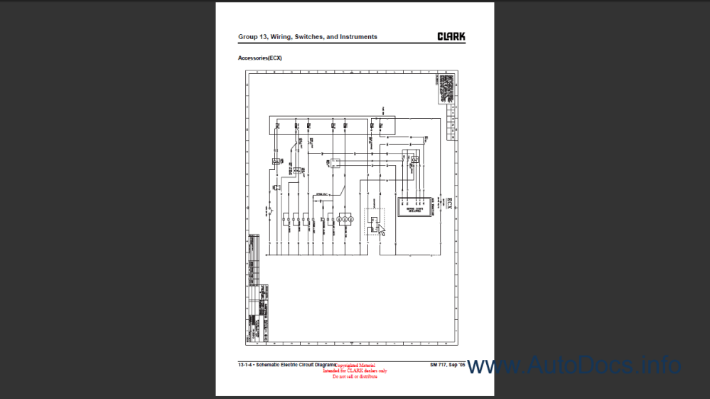 medium resolution of clark electric forklift wiring diagram clark forklift identification wire diagram clark ecx 20 32 erx 20 30