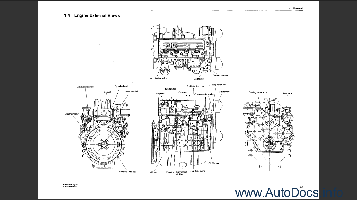 Yanmar 4TNE94-98-106(T) Order & Download