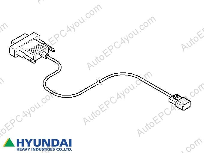 Hyundai Robex Diagnostic Tool (HRDT) diagnostic Order