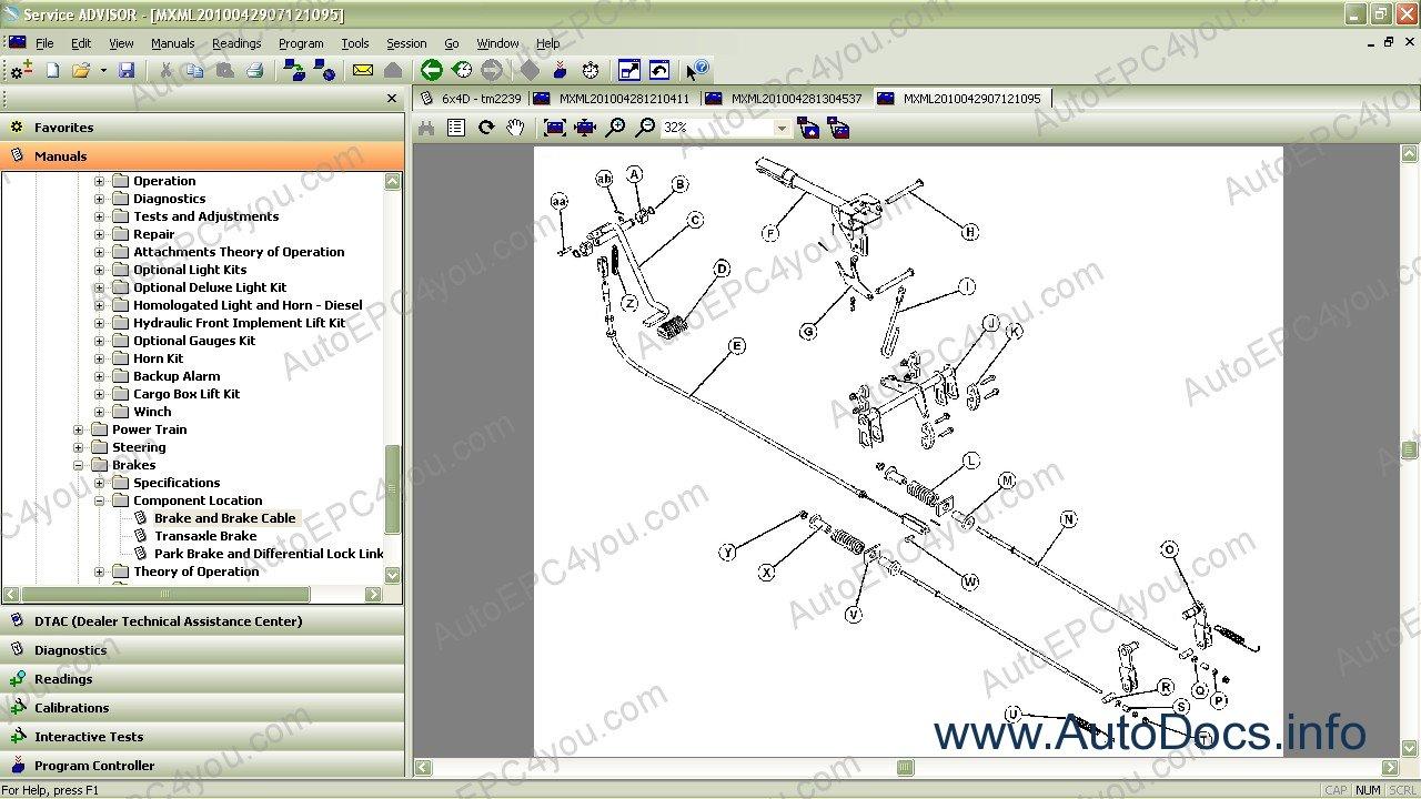 John Deere Gator 6x4 Wiring Diagram Free Picture John Deere Service Advisor Cf 2008 History Dvd Repair