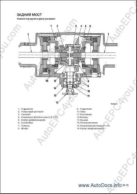 Komatsu WB91R-2, WB93R-2 Backhoe Loader Service Manual RUS