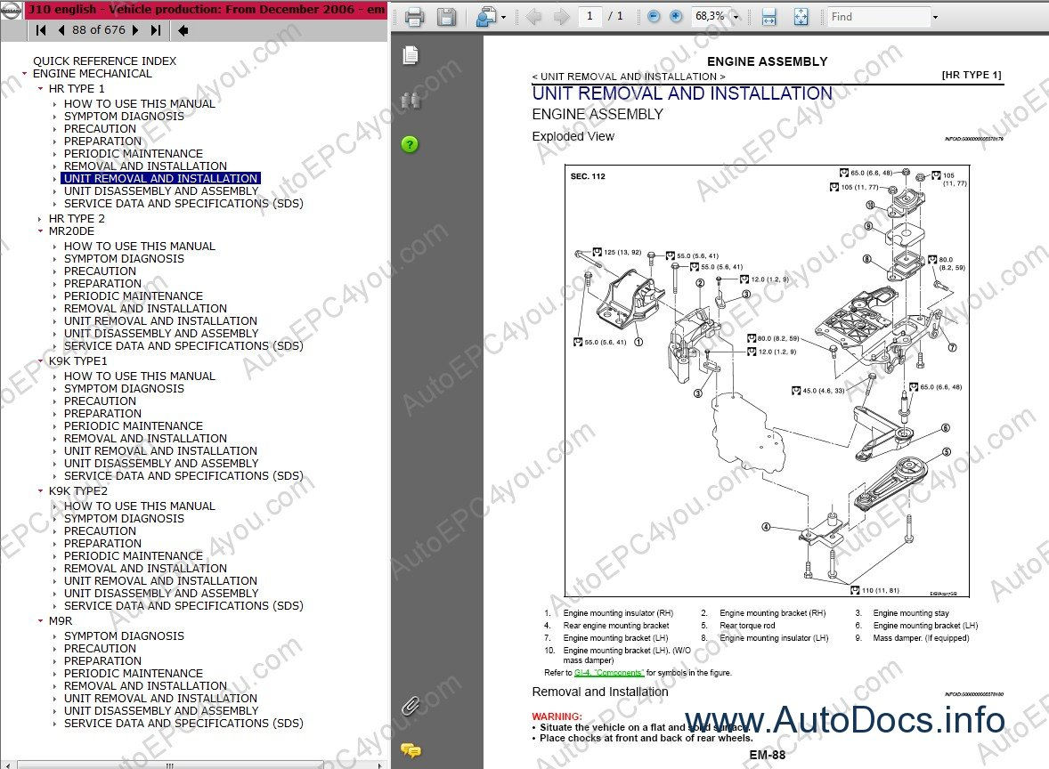 Nissan Qashqai and Qashqai+2 Repair Manual repair manual