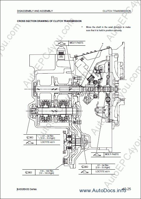Mitsubishi Fg25 Parts Manual