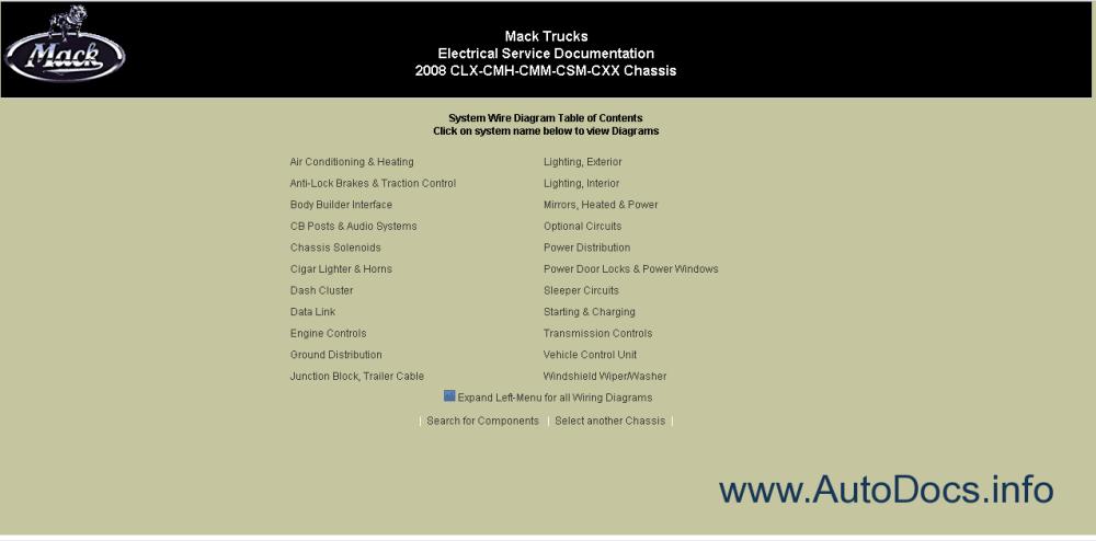medium resolution of mack trucks electrical service documentation 1