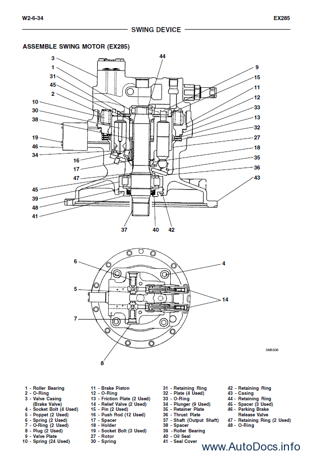 Fiat Kobelco EX255-EX285 Tier2 PDF Workshop Manual