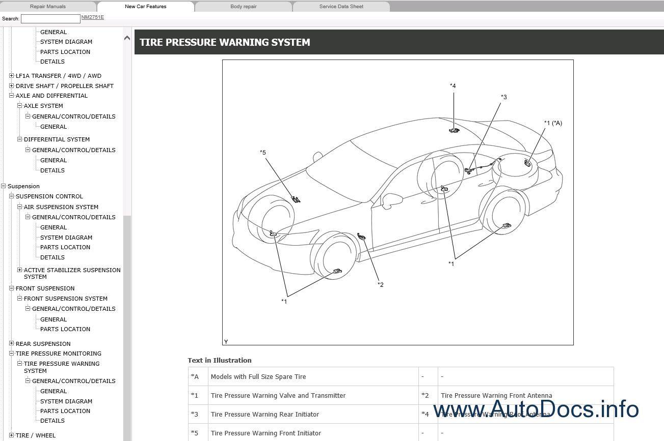 Lexus LS600h Repair Manual 09-2015