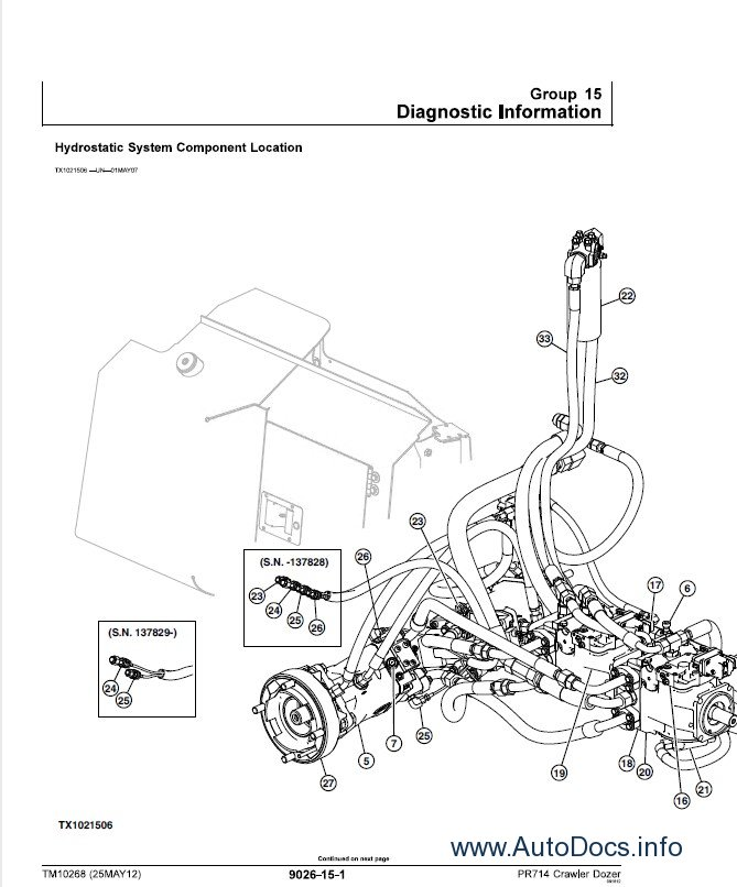 Download Liebherr Crawler Dozers 714 Series 4 Service PDF