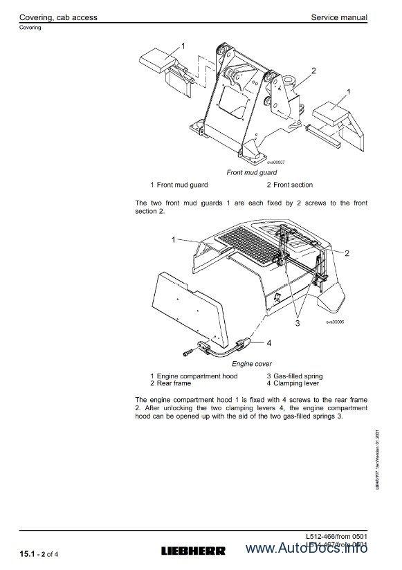 Download Liebherr L512 L514 Stereo Wheel Loader SM PDF