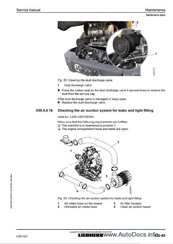 Download Liebherr L528 1267 Wheel Loader Service PDF