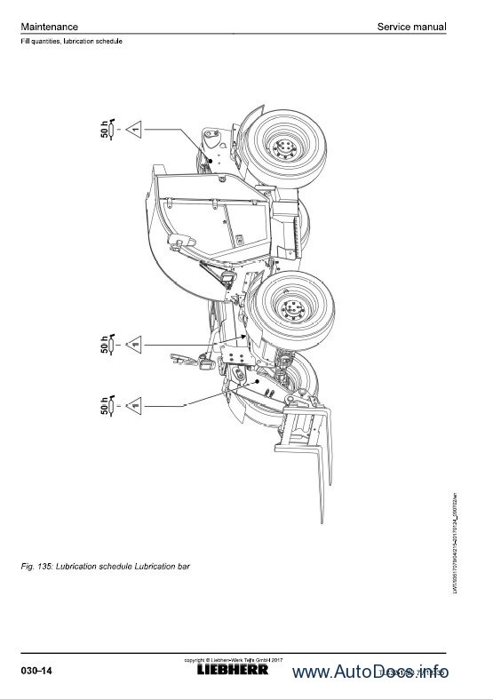 Download Liebherr TL432 1483 Telehandlers Service Manual