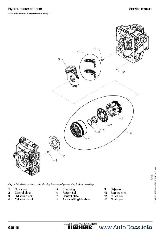 Download Liebherr TL436 1620 Telescopic Handler SM PDF