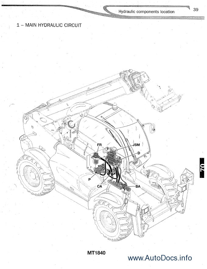 Manitou 731 Wiring Diagram