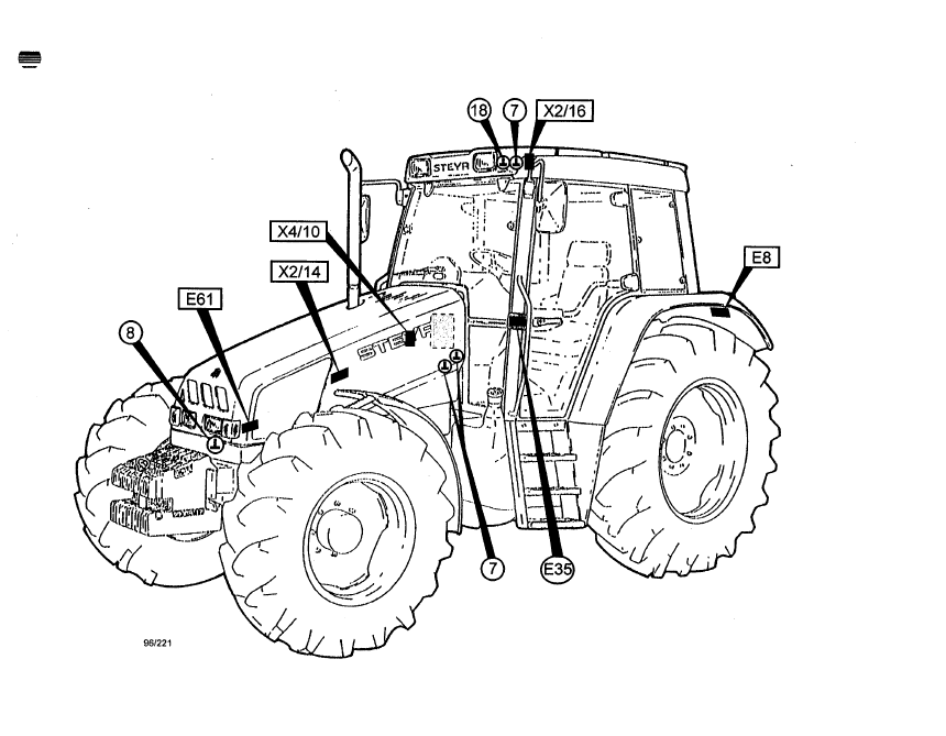 Case Cs100 Cs110 Cs120 Cs130 Cs150 Tractors PDF Repair Manual