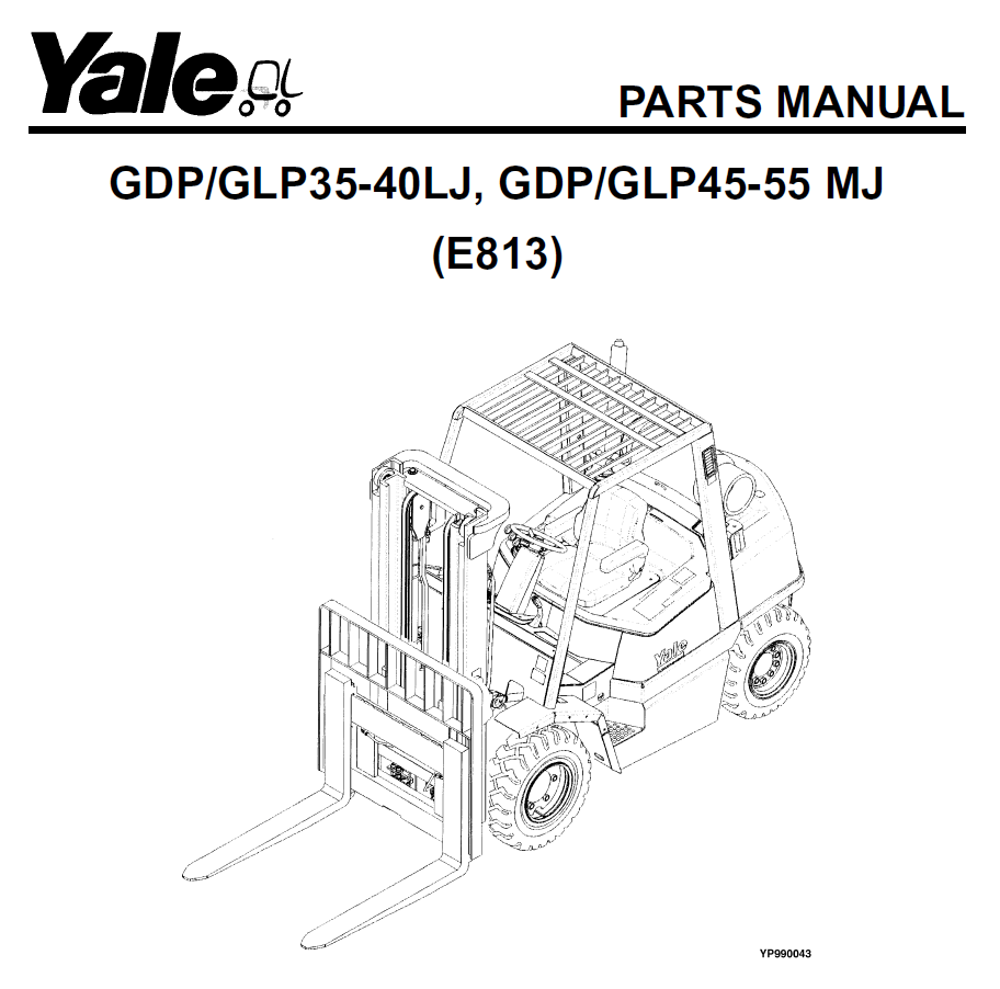 Yale Industrial Trucks for Europe Download Parts Manuals 2017