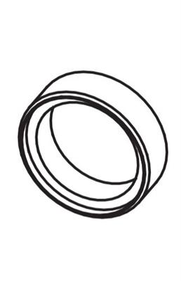 Detex CCS, Cylinder Collar, Short 7/16