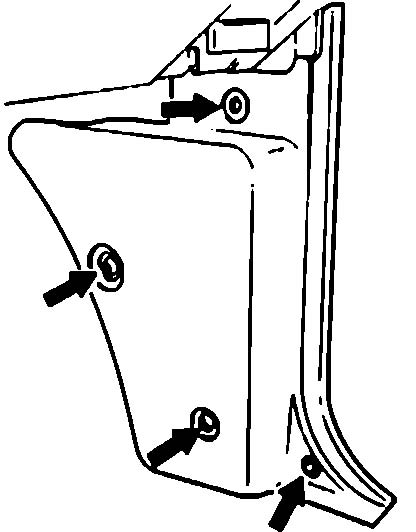 1990 Mazda PU B2600 Engine Control Unit Removal Instructions