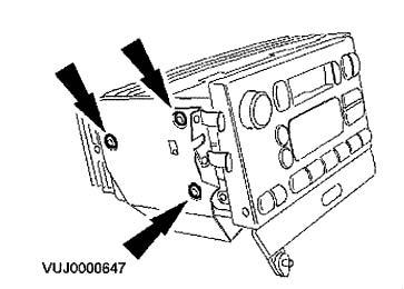 2001-2003 Jaguar S-type Radio Removal Instructions