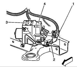 2001-2005 Deville ABS Removal Instructions