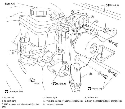 2005 Nissan Pathfinder Actuator and Electric Unit