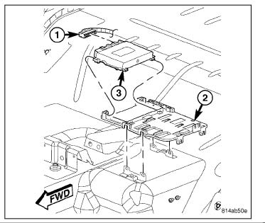 2006 Jeep Grand Cherokee Shift Module Removal Instructions