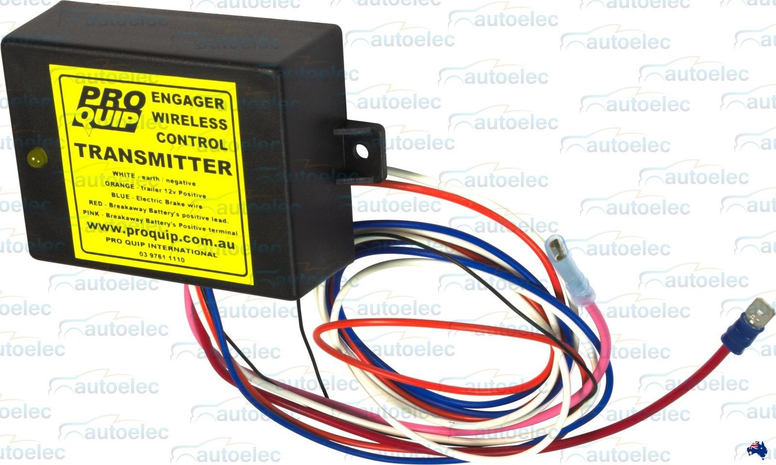 hight resolution of remote battery monitor system 4 trailer break away