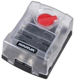 narva 6 way fuse block box holder ats blade  [ 1256 x 1600 Pixel ]