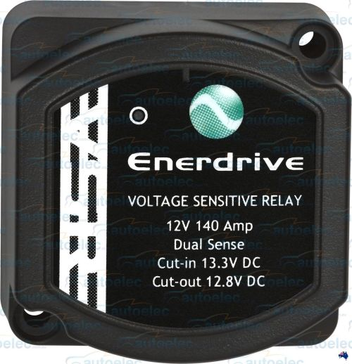 small resolution of enerdrive voltage sensitive relay 12v vsr isolator 140a dual battery system
