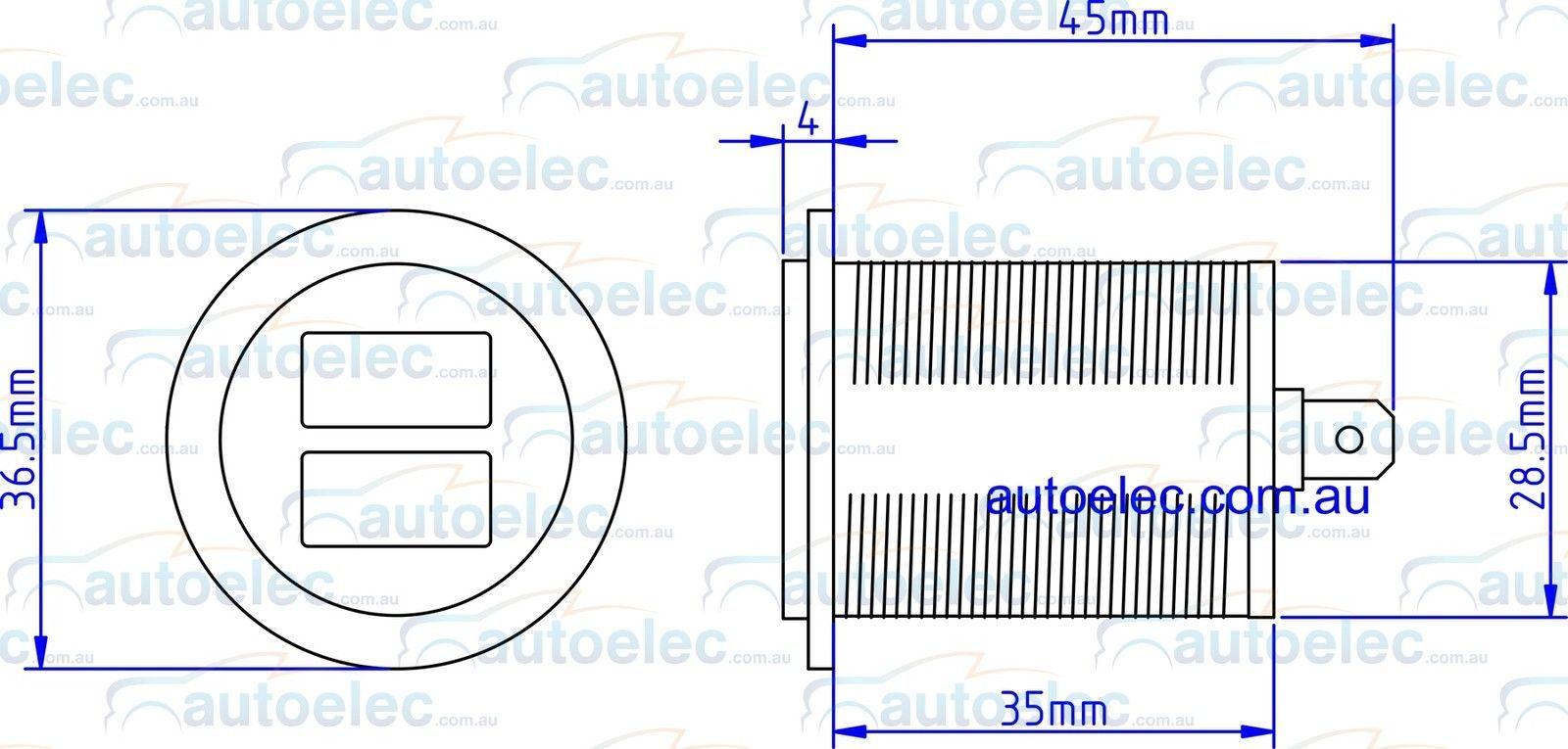 hight resolution of volt amp meter
